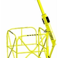 Xtirpa portable manhole guard system for fall protection and retrieval.